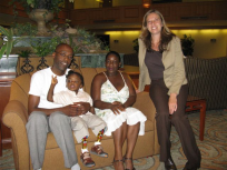 Parry family & manager of Marriot Hicksville